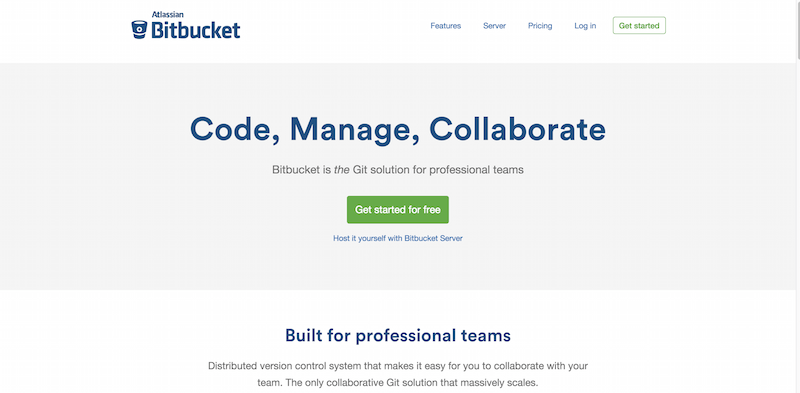 Bitbucket — The Git solution for professional teams - Web
