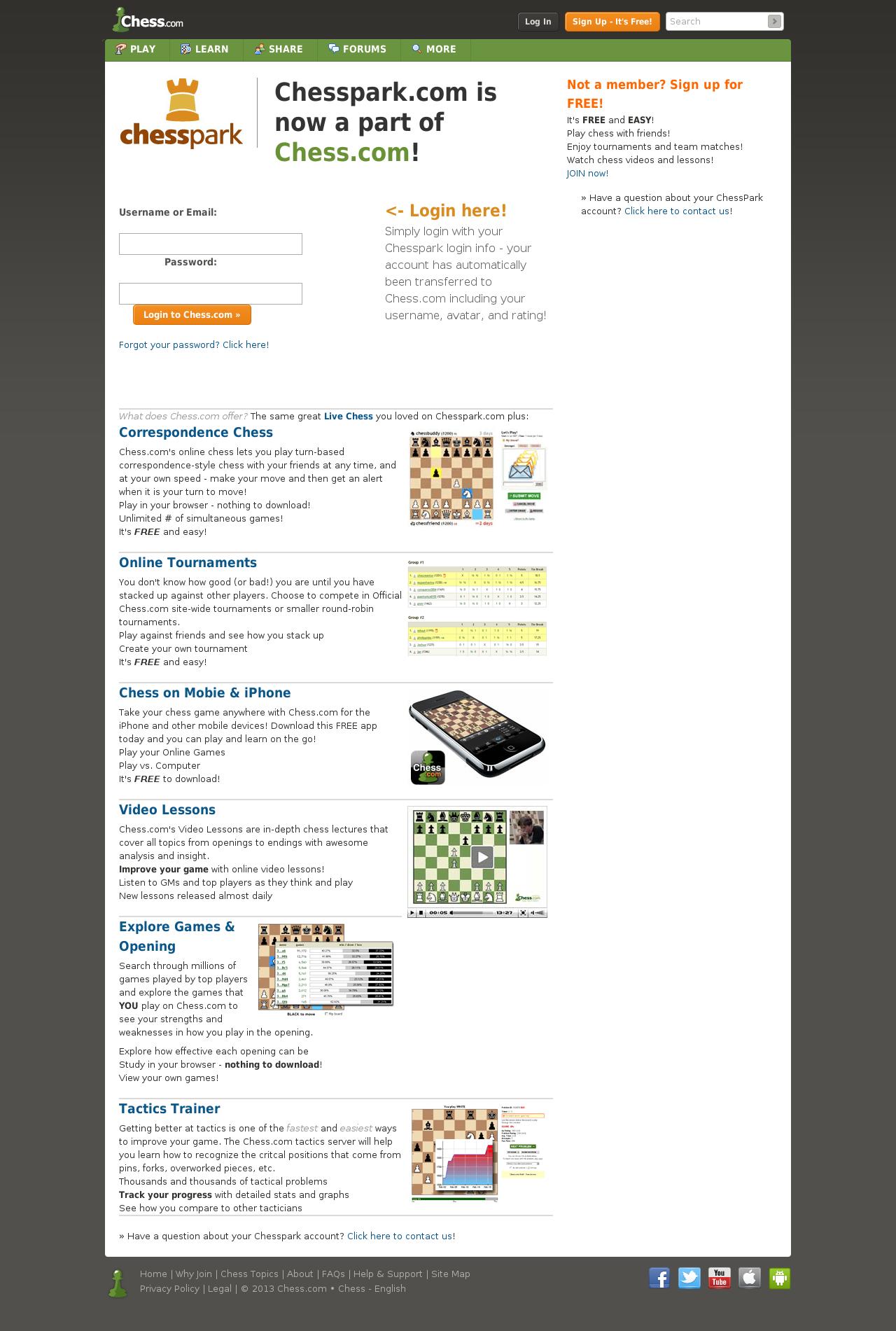 Chess Homepage