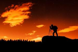 Landscape at Night, Art
