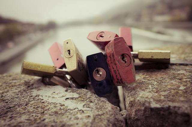 Padlocks Together