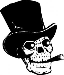 Skull Outline Drawing