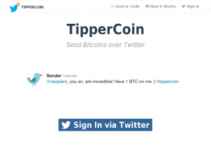 TipperCoin Homepage