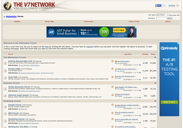 V7N Forum Homepage
