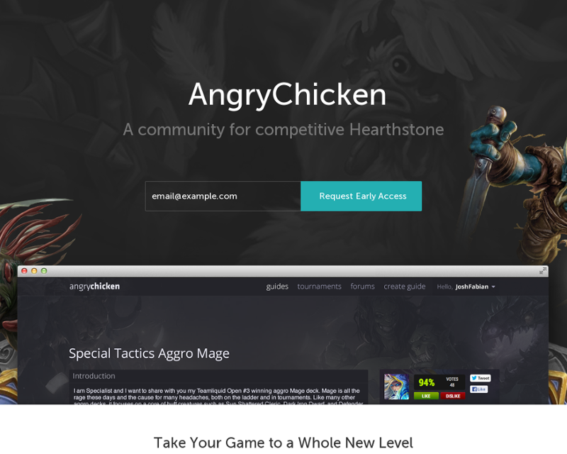 AngryChicken - Competitive Hearthstone Community