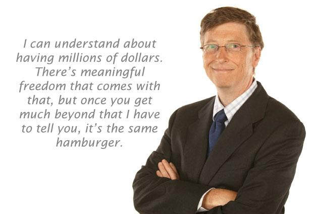 Bill Gates Quote on Money