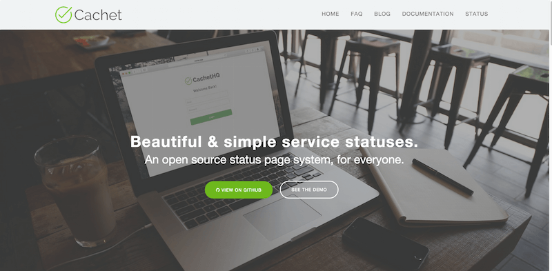 Cachet The Open Source Status Page System
