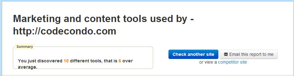 CodeCondo Tools
