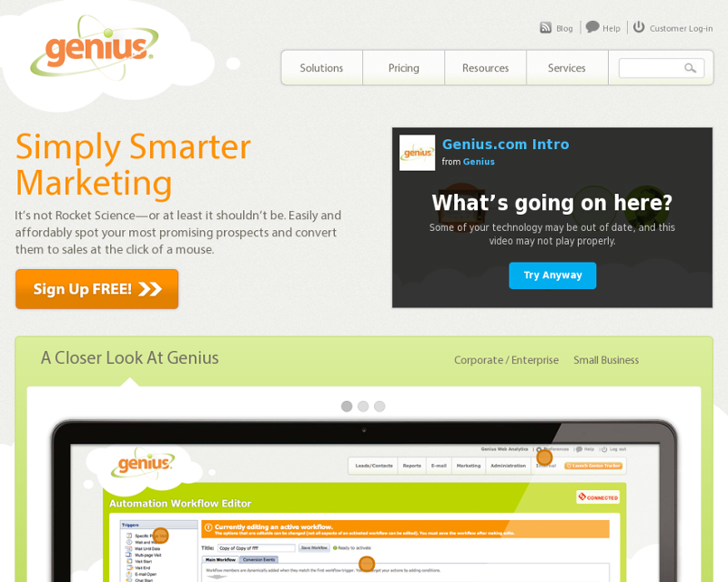 Genius.com Homepage