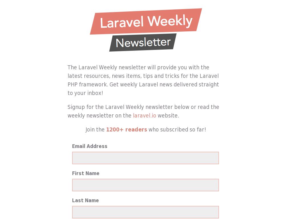 Laravel Weekly