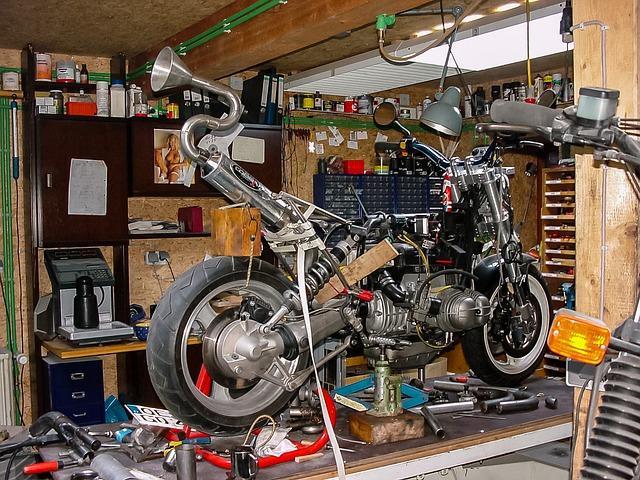 Motorcycle Workshop [Writing Prompt]