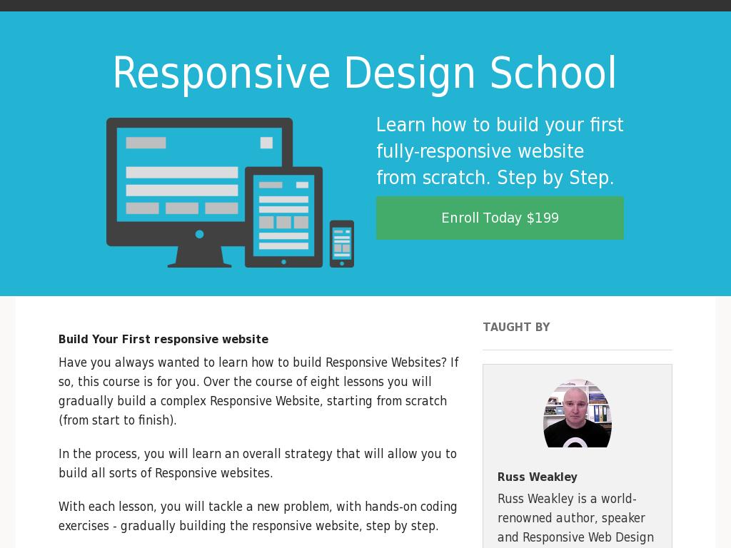 Responsive Design School