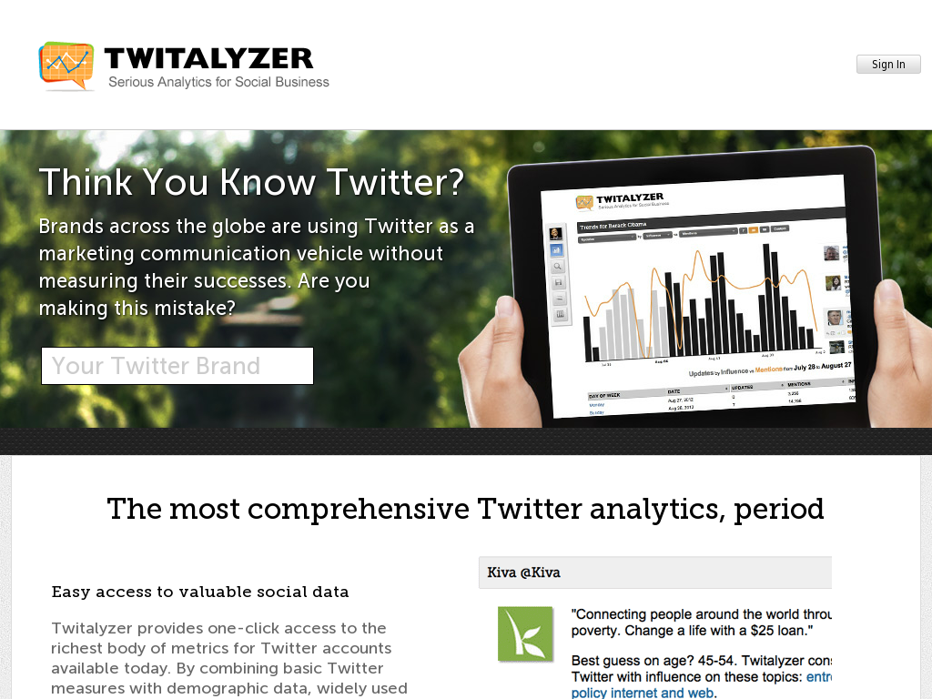 Twitalyzer