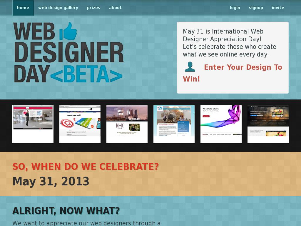 Web Designer Day