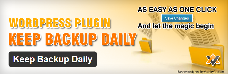 WordPress Keep Backup Daily Plugin