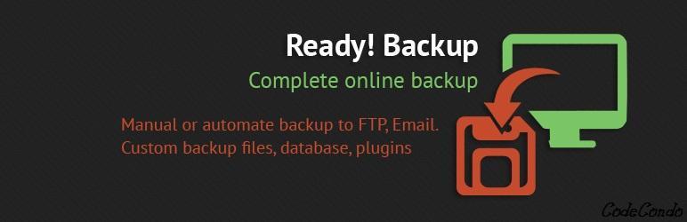 WordPress Ready! Backup Plugin