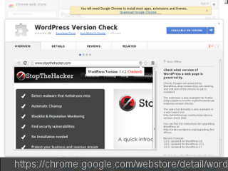 WordPress Version Check