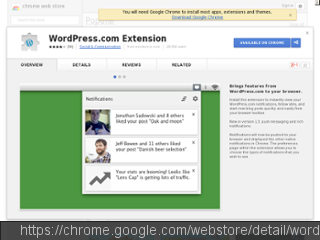 WordPress.com Extension