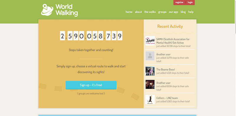 World Walking a simple free and fun way to help you keep active