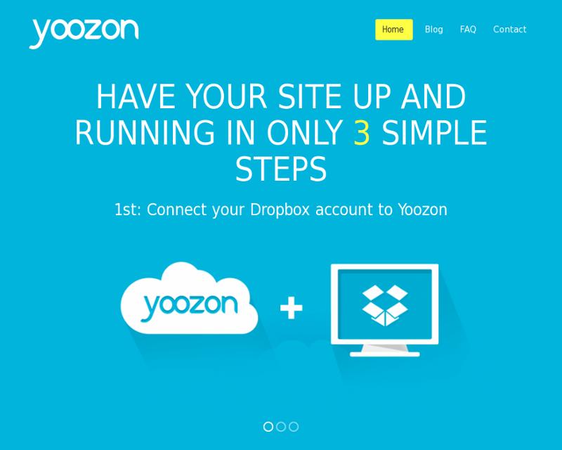 Yoozon Homepage