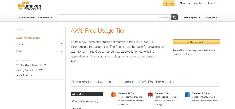 AWS Free Usage Tier