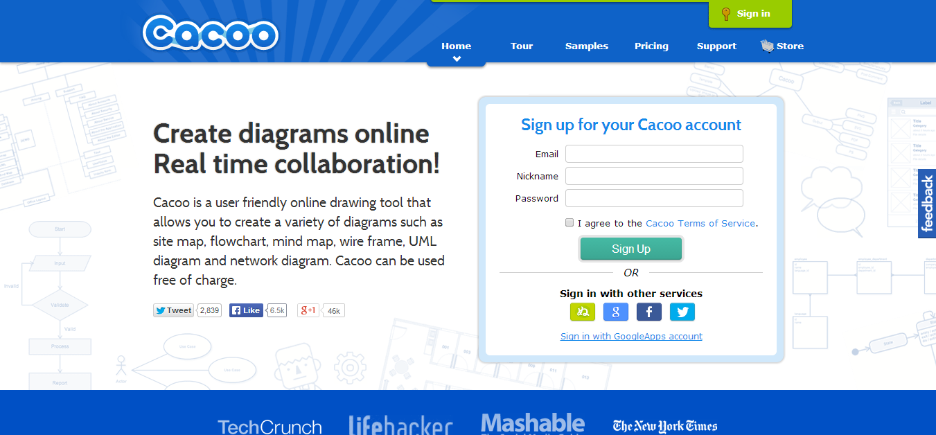 Cacoo Online Diagram Software for Flow Chart UML and More.
