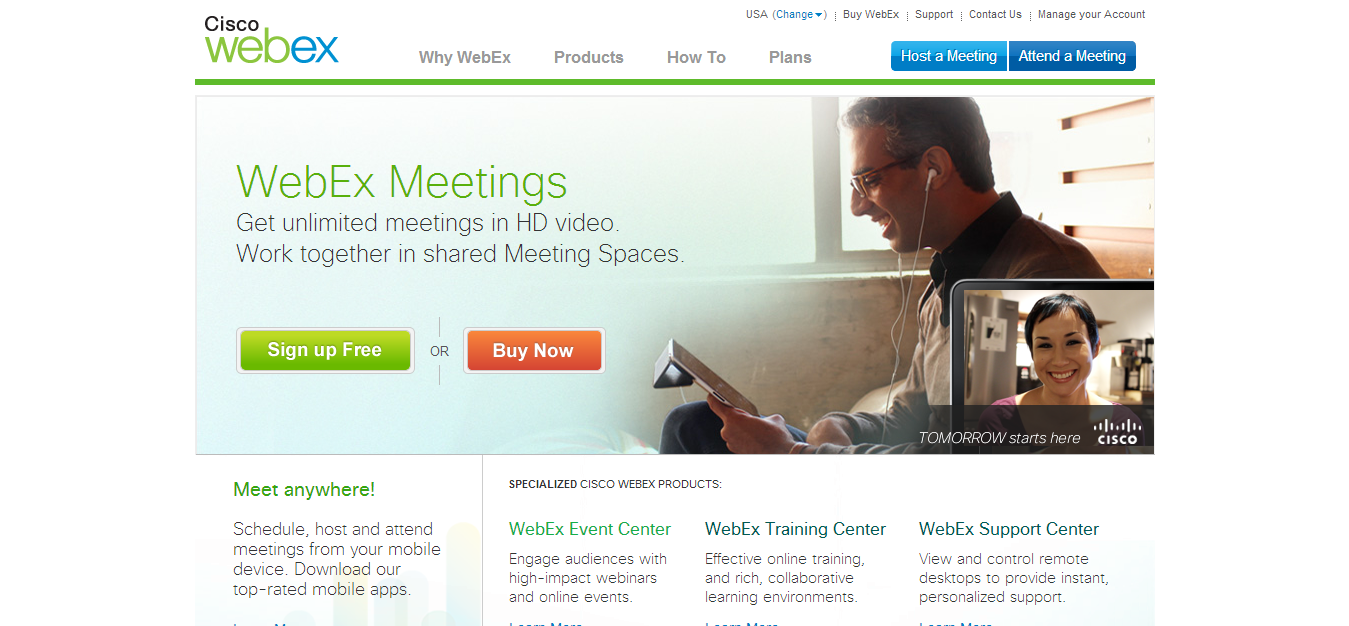 webex free online meeting Highfive makes your meetings awesome with insanely simple video conferencing built for your meeting rooms all-in-one hardware & software affordable.