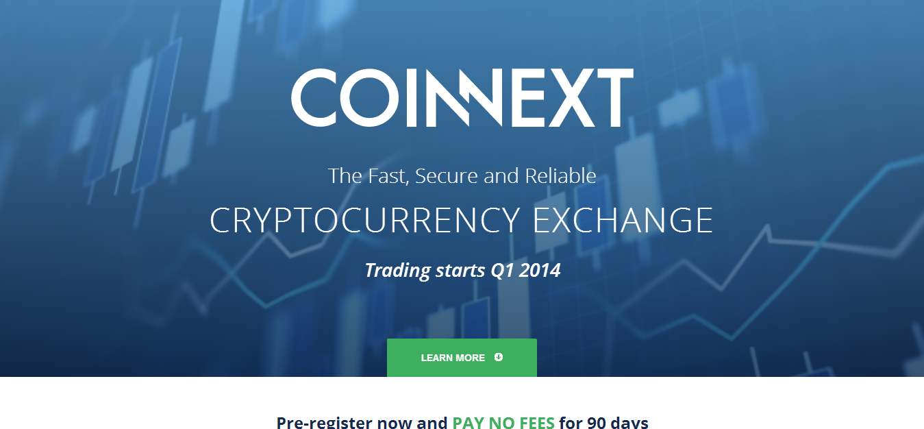 Coinnext - Reliable Cryptocurrency Exchange