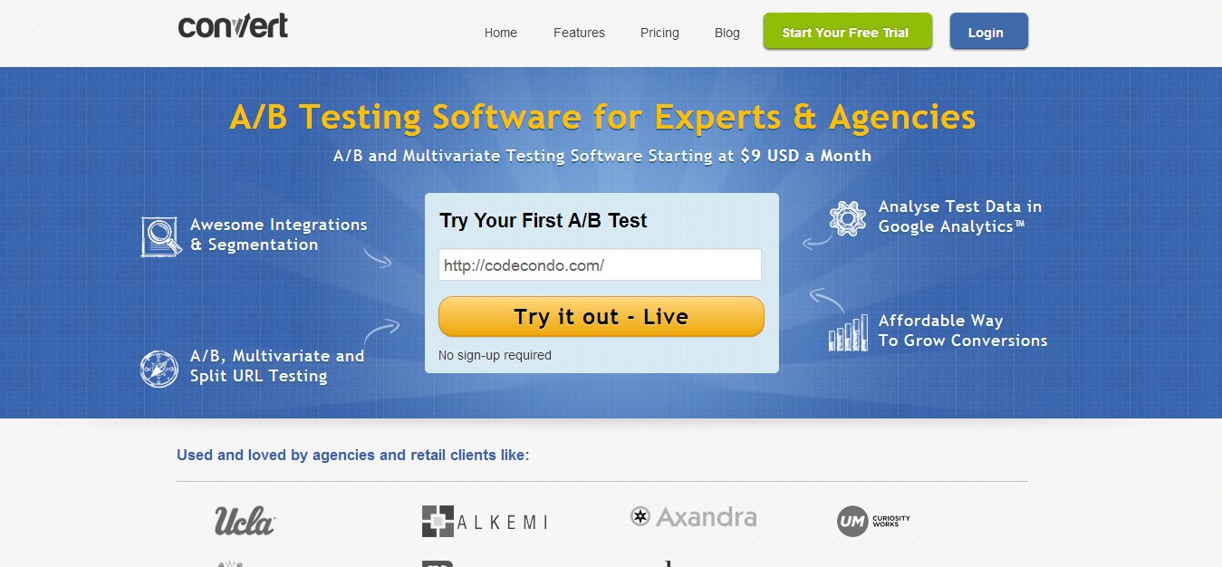 Convert Experiments A B Testing SoftwareA B Testing Software