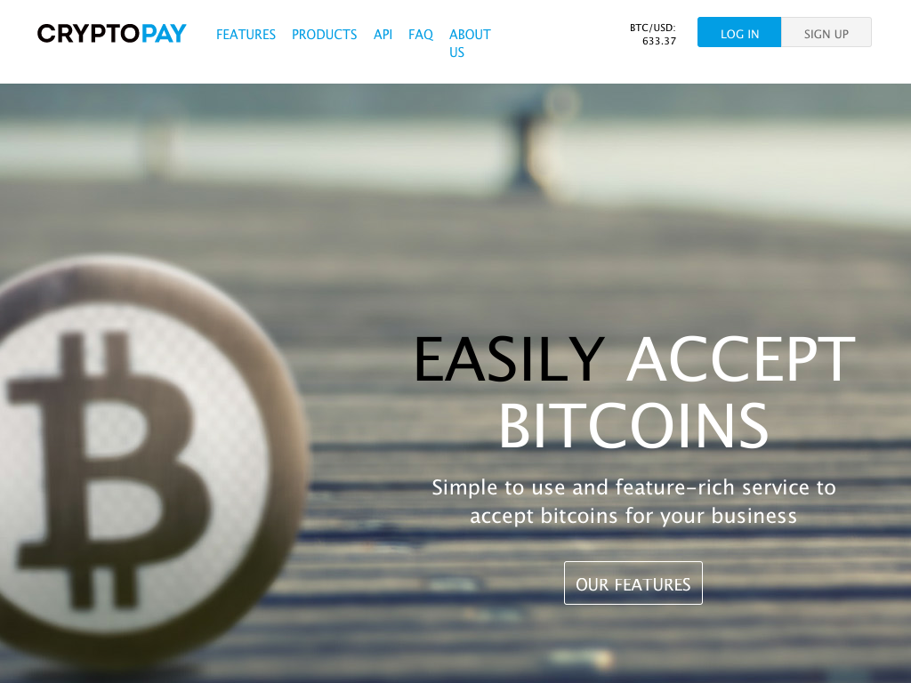 Cryptopay - Bitcoin Payment Gateway