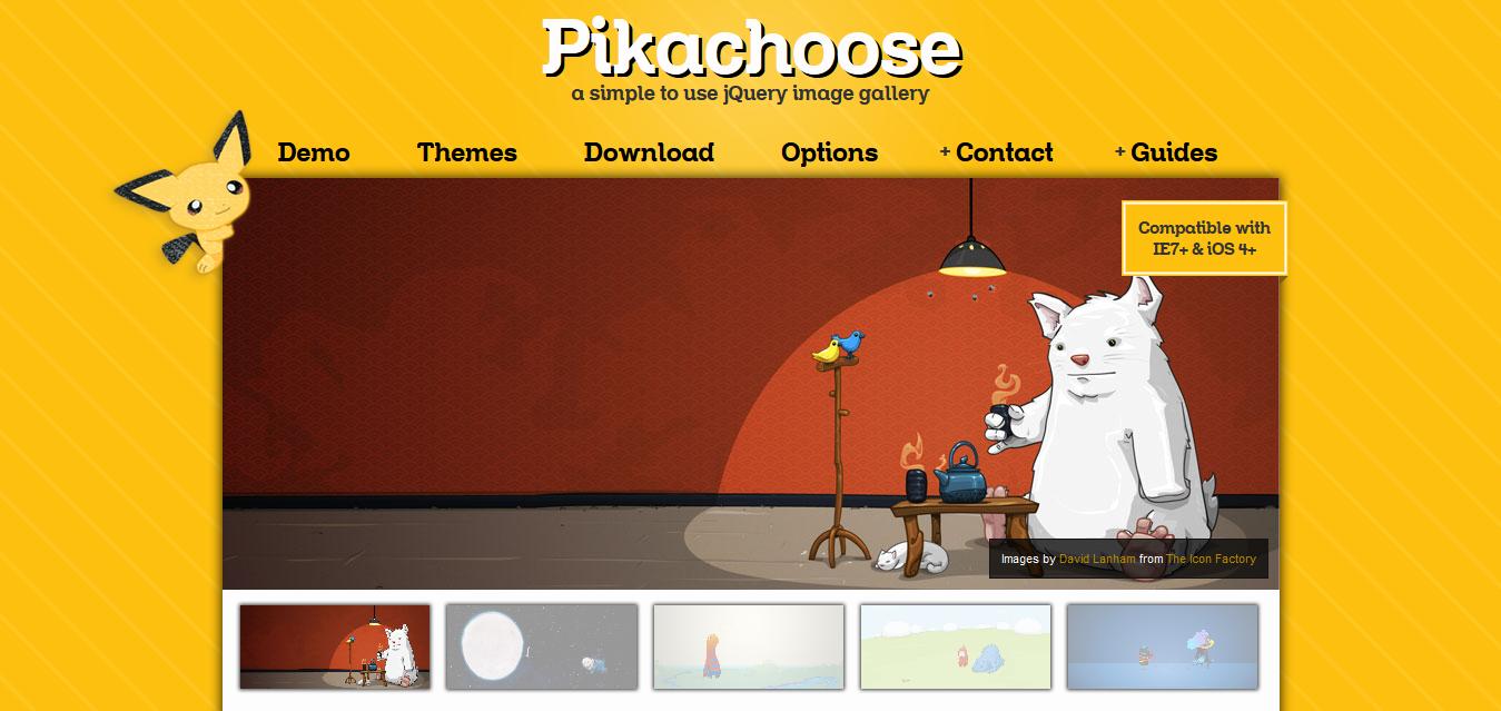 Demo - Pikachoose a jQuery Slideshow - Pikachoose