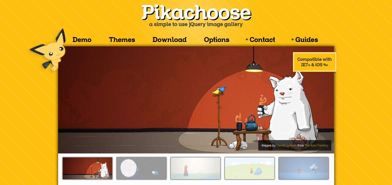 Demo - Pikachoose a jQuery Slideshow - Pikachoose