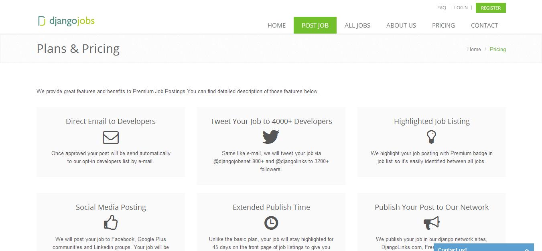 Django Jobs - Post Django Development Jobs for Python Developers