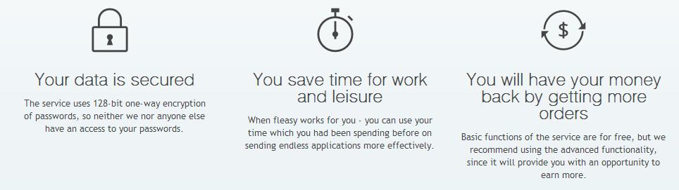 Fleasy - Features
