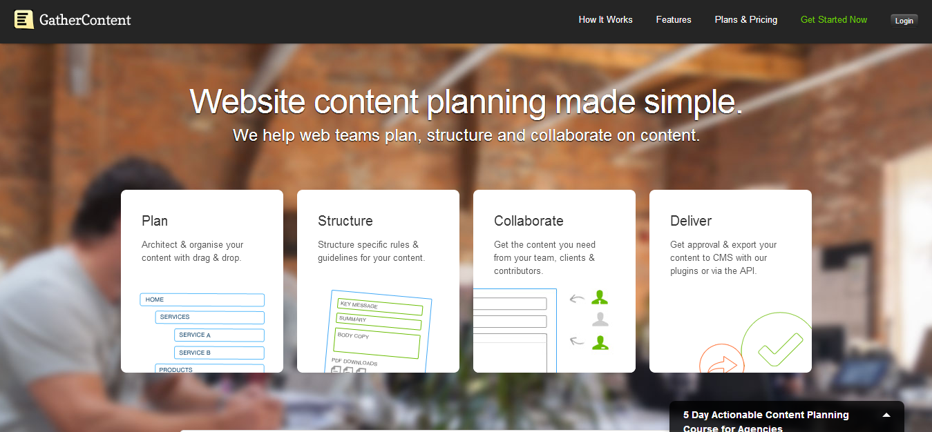 GatherContent — Simple Website Content Organisation Collaboration.