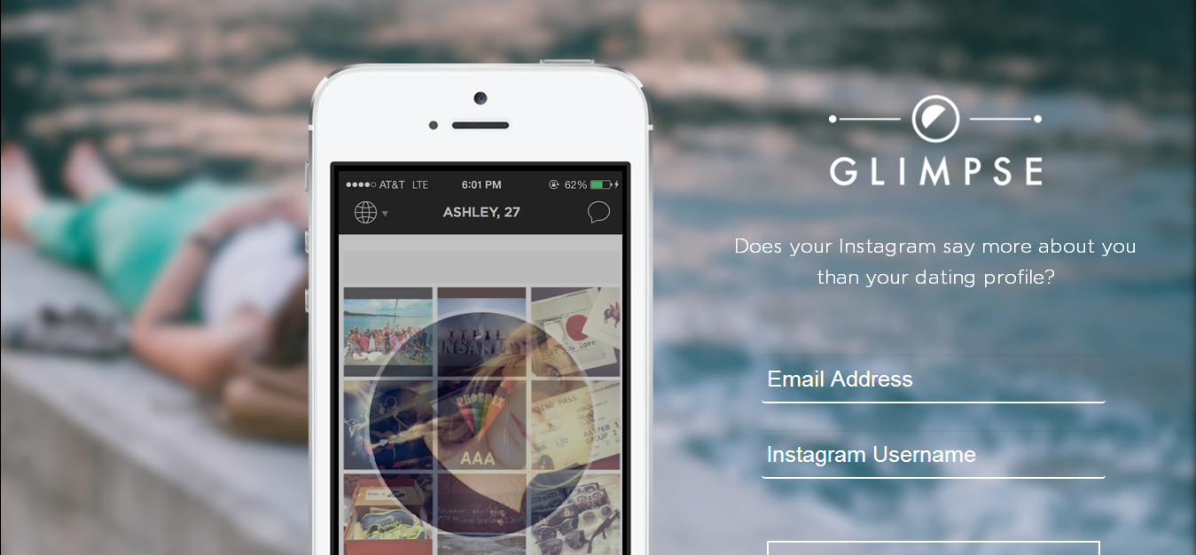 Glimpse - Mobile Dating App Built on Instagram