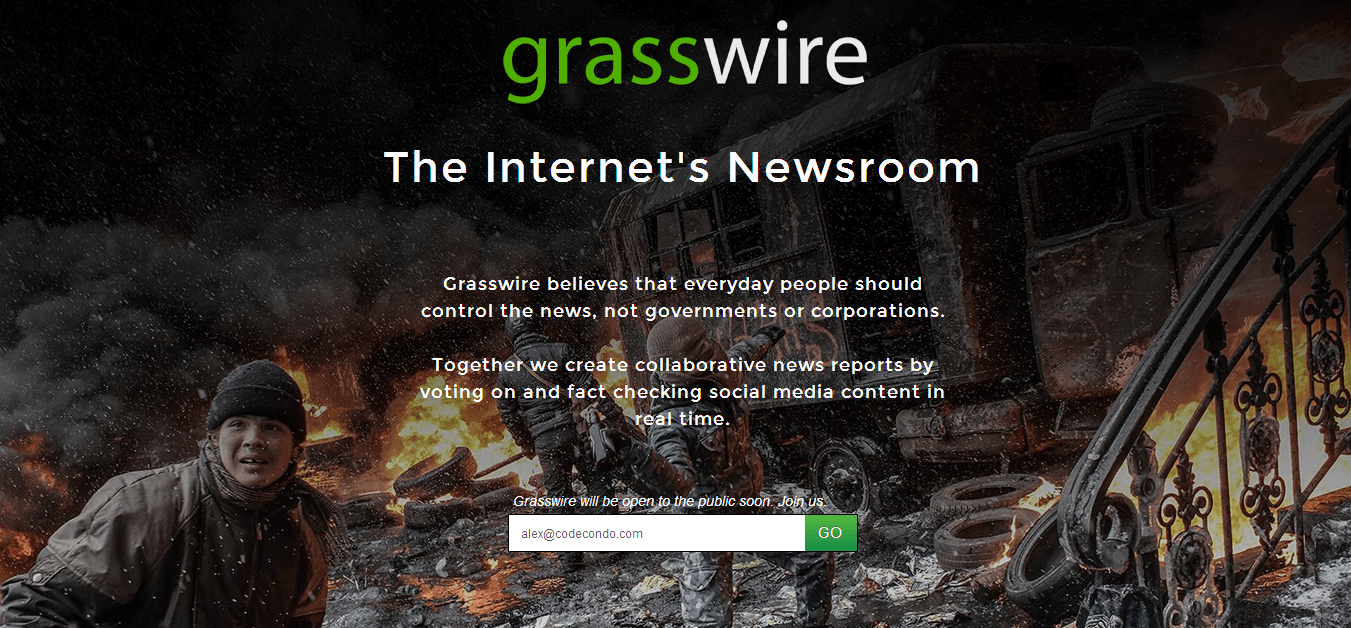 Grasswire - The Internet's Newsroom