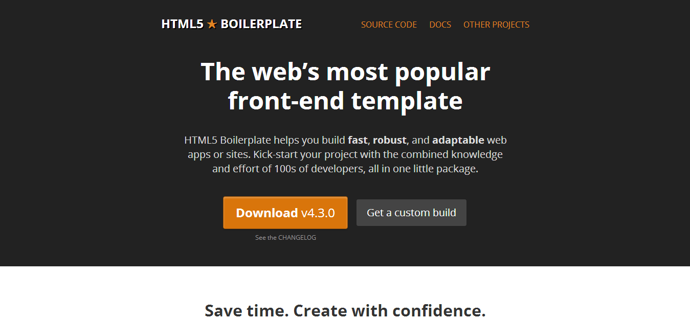 HTML5 Boilerplate - The web s most popular front end template