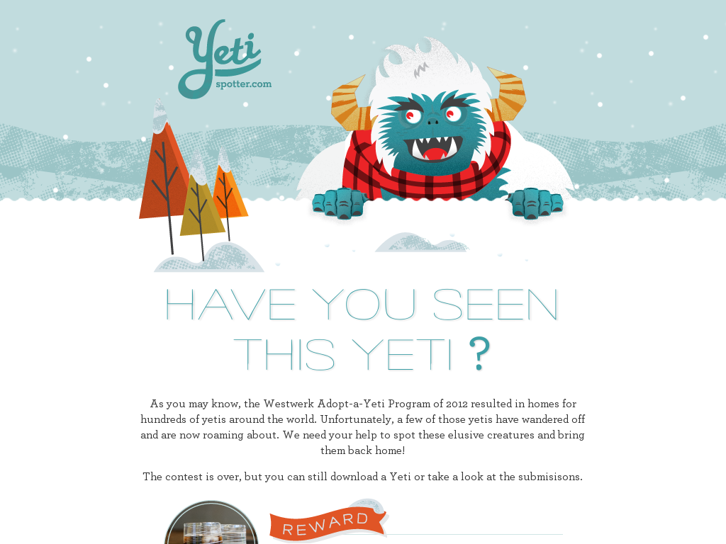 Have You Seen This Yeti