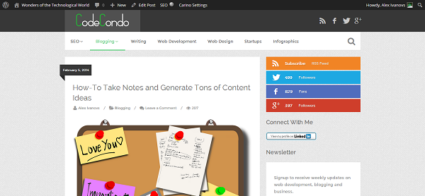 How-To Take Notes and Generate Tons of Content Ideas