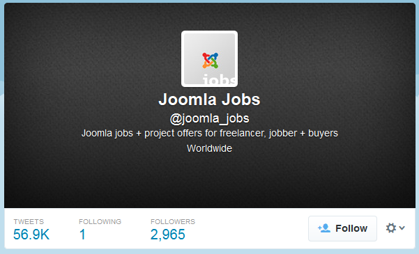 Joomla Jobs (joomla_jobs) on Twitter