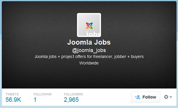 Joomla Jobs (joomla_jobs) on Twitter