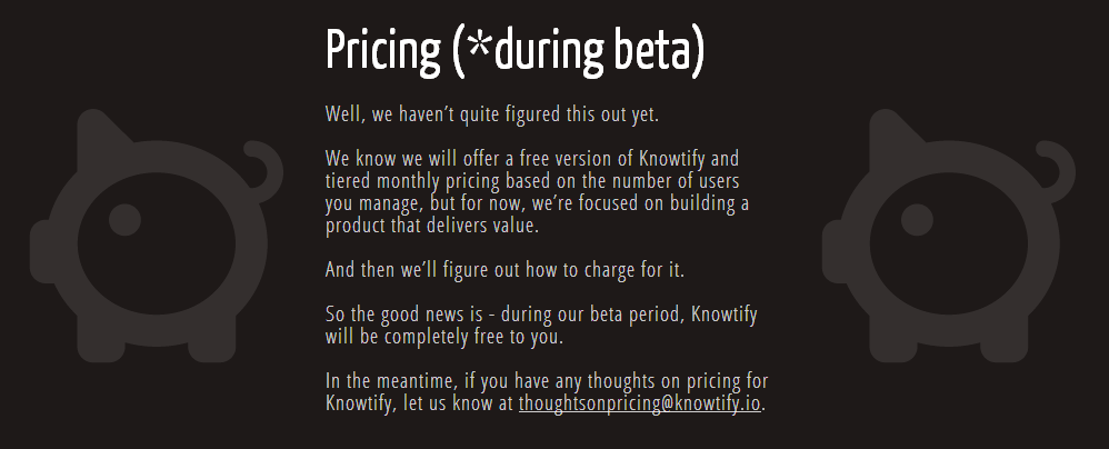 Knowtify Pricing