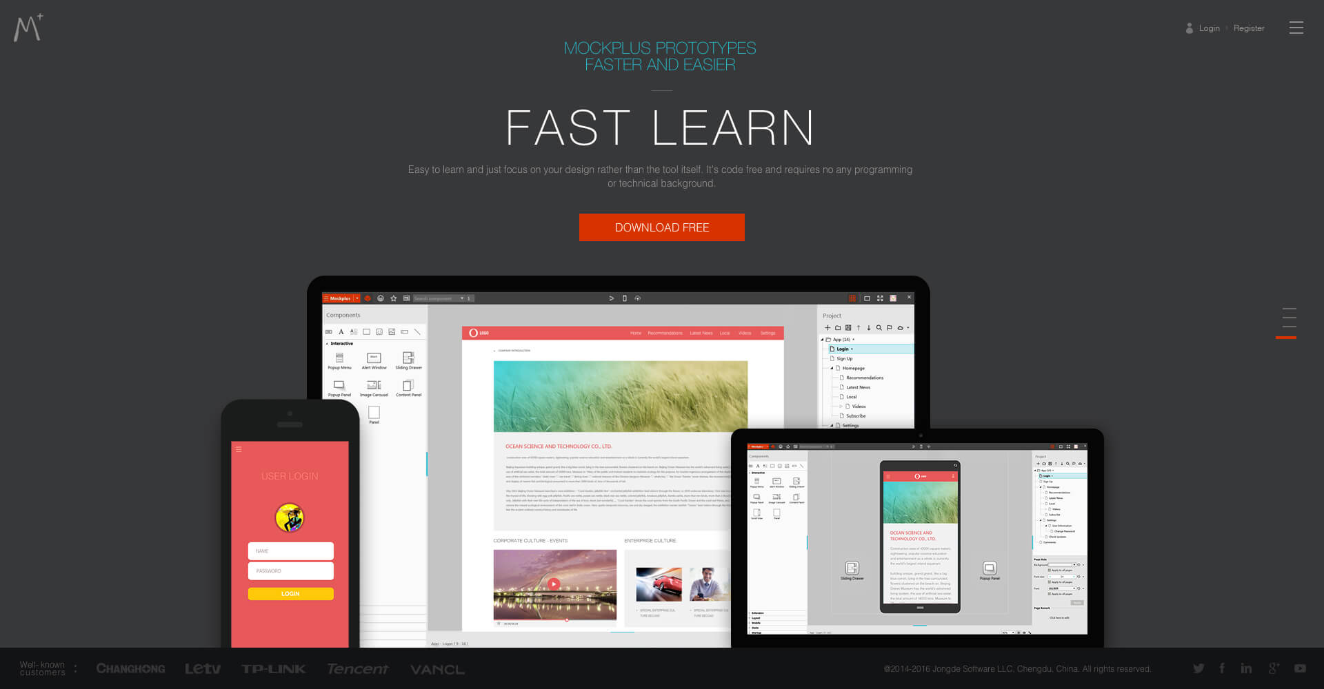 25 Free Mockup and Wireframe Tools for Web Designers |