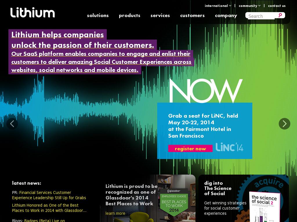 Lithium - Social Customer Community