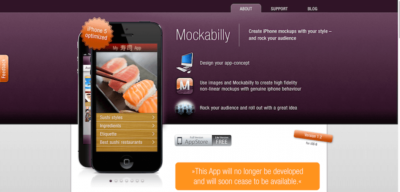 Mockabilly    App for creating mockups on iPhone    iPhone app mockup