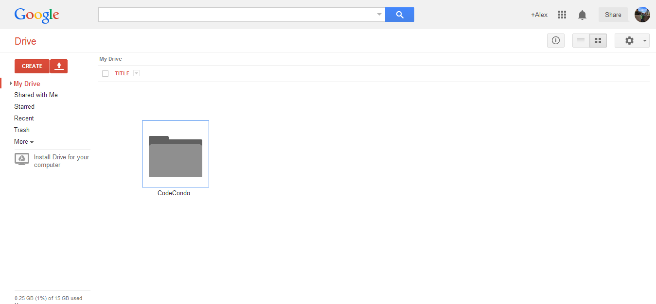 My Drive Google Drive
