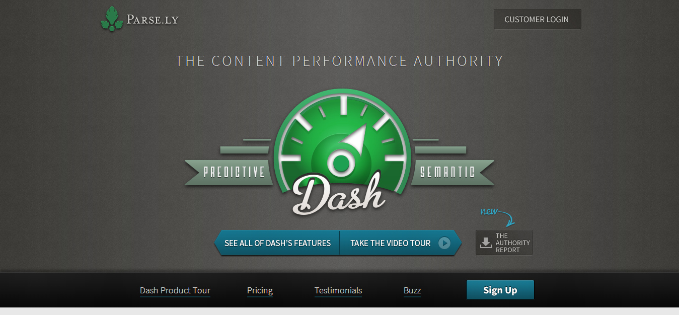 Parse.ly The authority in content measurement