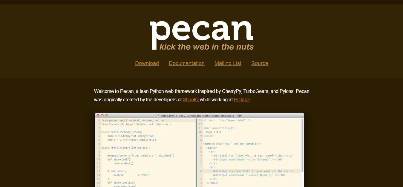 Pecan   Kick the Web in the Nuts