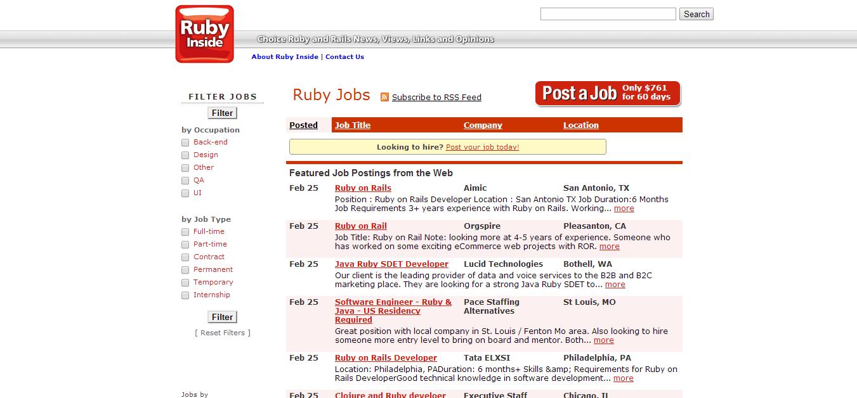 Ruby Jobs