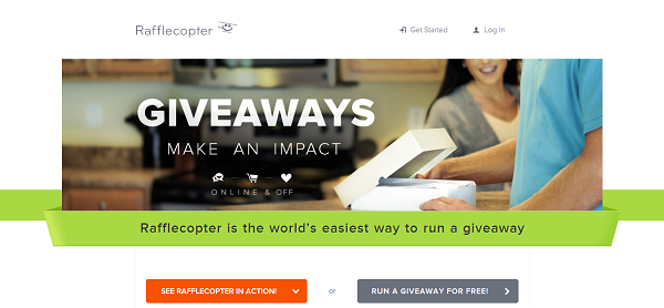 Run Contests With Rafflecopter